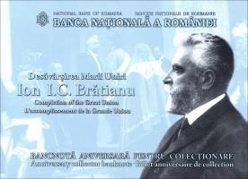 Rumänien / Romania P.neu 100 Lei 2019 Polymer Gedenkbanknote (1)