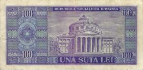 Rumänien / Romania P.097 100 Lei 1966 (3)