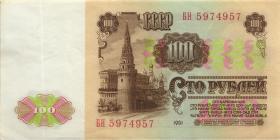 Russland / Russia P.236a 100 Rubel 1961 (2)