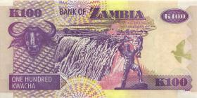 Sambia / Zambia P.38e 100 Kwacha 2005 (1)