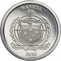 Samoa 1-Sene-Gedenkmünzserie 2020 Vögel (12 Stück) komplett