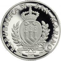 San Marino 10 Euro 2014 2000 J. Tiberbrücke Rimini