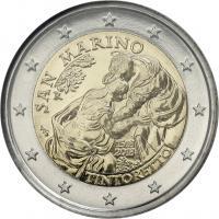 San Marino 2 Euro 2018 500. Geburtstag Tintoretto