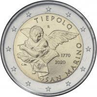 San Marino 2 Euro 2020 Tiepolo