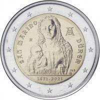 San Marino 2 Euro 2021 Albrecht Dürer