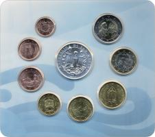 San Marino Euro-KMS 2020 mit 5 Euro Gedenkmünze
