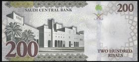 Saudi-Arabien / Saudi Arabia P.Neu 200 Riyals 2021 (1) Gedenkbanknote