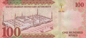 Saudi-Arabien / Saudi Arabia P.neu4 100 Riyals 2016 (1)