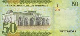 Saudi-Arabien / Saudi Arabia P.neu3 50 Riyals 2016 (1)