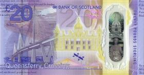 Schottland / Scotland P.neu 20 Pounds 2019 QC Polymer (1)