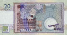 Schottland / Scotland P.229 20 Pounds 1999 Gedenkbanknote (1)