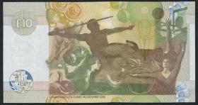 "Schottland / Scotland P.229E 10 Pounds 2006 ""Commonwealth Spiele"" (1)"