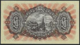 Schottland / National Bank P.258b 1 Pound 1951 (1)