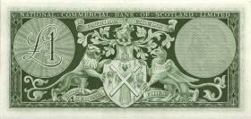 Schottland / Scotland National Commercial Bank P.269 1 Pound 1961 (1)