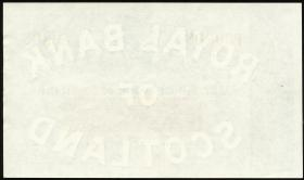 Schottland / Scotland Royal Bank P.323c 5 Pounds 1963 (2+)