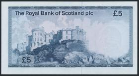 Schottland / Scotland Royal Bank P.342c 5 Pounds 1985 (1)