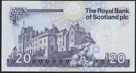 Schottland / Scotland Royal Bank P.354d 20 Pounds 2007 (1)