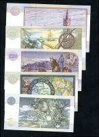 Schottland / Scotland P.218a 5-100 Pounds 1996-2002 (1)