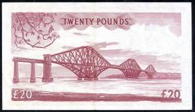 Schottland / Scotland P.263 20 Pounds 1957 (2)
