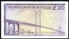 Schottland / Scotland P.332 20 Pounds 1969 (3)