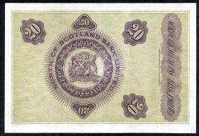 Schottland / Scotland North of Scotland Bank  P.S641 20 Pounds 1930 (3+)