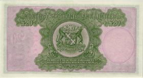 Schottland / Scotland North of Scotland Bank  P.S646 20 Pounds 1.7.1949 (2/1)