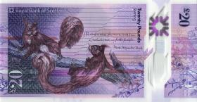 Schottland / Scotland P.neu 20 Pounds 2019 Polymer (1)