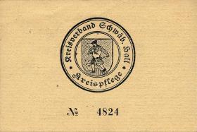 Schwäbisch Hall 1 Reichsmark 16.4.1945 (1)