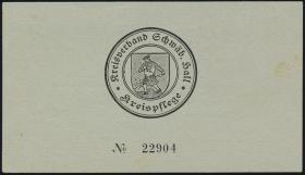 Schwäbisch Hall 5 Reichsmark 16.4.1945 (1/1-)