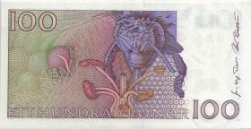 Schweden / Sweden P.57b 100 Kronen 1996 (2+)