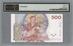 Schweden / Sweden P.66d 500 Kronen 2009 (1)