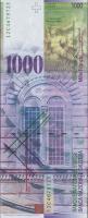 Schweiz / Switzerland P.74d 1000 Franken 2012 (1)