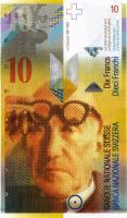 Schweiz / Switzerland P.67d 10 Franken 2010 (1)