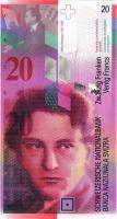Schweiz / Switzerland P.69h 20 Franken 2014 (1)