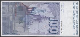 Schweiz / Switzerland P.57m 100 Franken 1993 (1)