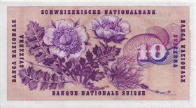 Schweiz / Switzerland P.45n 10 Franken 1968 (2)