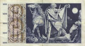 Schweiz / Switzerland P.49i 100 Franken 1967 (3)