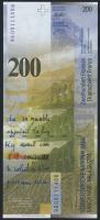 Schweiz / Switzerland P.73a 200 Franken 1996 (1)