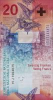 Schweiz / Switzerland P.76 20 Franken 2015 (1)