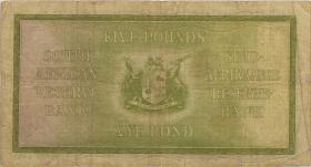 Südafrika / South Africa P.086b 5 Pounds 1942 (3-)