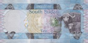 Süd Sudan / South Sudan P.07 10 Pounds 2011 (1)