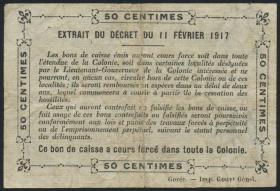 Senegal, Frz. Verwaltung P.01b 0,50 Franc L 1917 (4)
