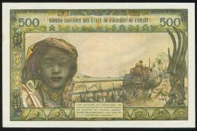 West-Afr.Staaten/West African States P.702Ki 500 Fr. (1959-65) (1)