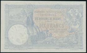 Serbien / Serbia P.10a 10 Dinara 1893 (1)