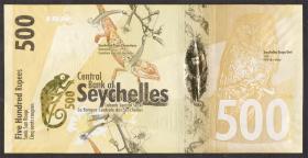 Seychellen / Seychelles P.51 500 Rupien 2016 (1)