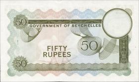 Seychellen / Seychelles P.17d 50 Rupien 1972 (1)
