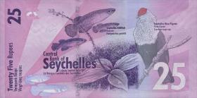 Seychellen / Seychelles P.48 25 Rupien 2016 (1)