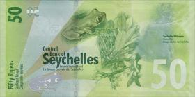 Seychellen / Seychelles P.neu 50 Rupien 2016 (1)