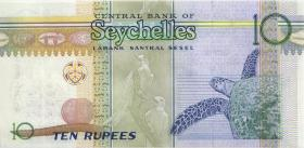 Seychellen / Seychelles P.46 10 Rupien 2013 (2015) Gedenkbanknote (1)