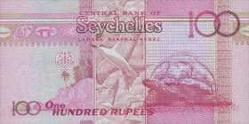 Seychellen / Seychelles P.47 100 Rupien 2013 (2015) Gedenkbanknote (1)